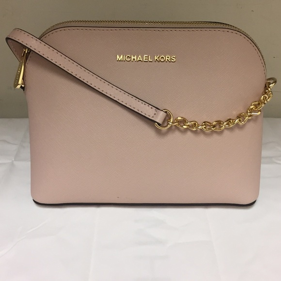 3065325fd96c Michael Kors Bags | Large Dome Crossbody Soft Pink New | Poshmark